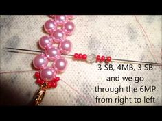 Video: Embellished Right Angle Weave bracelet - #Seed #Bead #Tutorials