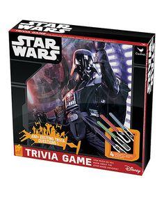 Look what I found on #zulily! Star Wars Trivia Game #zulilyfinds