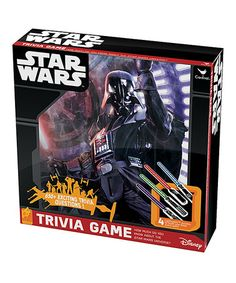 Look what I found on #zulily! Star Wars Trivia Game #zulilyfinds