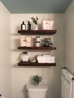 Bathroom Shelves Ideas Pinterest Apartment Decorating Rental
