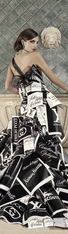 I guess this truly is a designer dress…lol