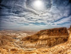 Negev with Dead Sea/Aravah in the background.