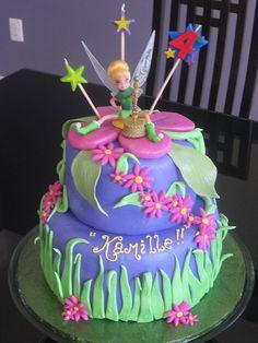 Tinkerbell Cake. For Deidre