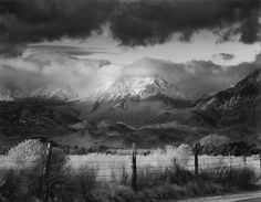 Bruce  Barnbaum - Basin Mountain_ Approaching Storm