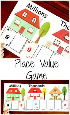 Help Your Kids Learn Large Numbers With A Place Value Game Printable