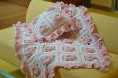 Bildergebnis für Floral Baby Blanket