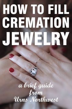 Filling Instructions for Sterling Silver Cremation Jewelry - Urns Northwest
