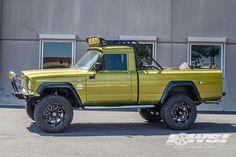 "1968 Jeep Gladiator with 18"" Hostile Wheels"