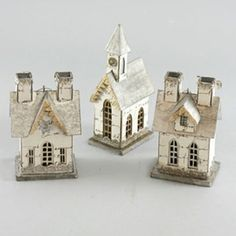 I just love paper houses by lulujewel Christmas Village Houses, Putz Houses, Christmas Villages, Fairy Houses, Christmas Home, Xmas, Christmas Paper, Papier Diy, House Template