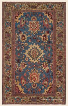 Antique Persian Sultanabad Rugs