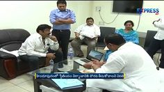 MLA Balakrishna met Minister Acham Naidu for construction of Sports stad...