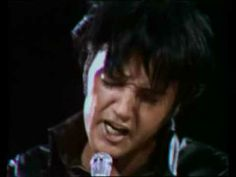 "elvis presley singing ""if i can dream"" in his 1968 comeback special. incomparable. a must-see."