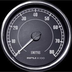 Smiths Flight 100mm Tachometer
