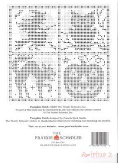 ru / Photo # 5 - 140 - Clematis= these elements will make a great filet pattern. Fall Cross Stitch, Cross Stitch Needles, Cross Stitch Samplers, Cross Stitch Charts, Counted Cross Stitch Patterns, Cross Stitch Designs, Cross Stitching, Cross Stitch Embroidery, Halloween Crochet Patterns