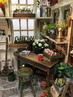 My Miniature Madness: Garden Shed