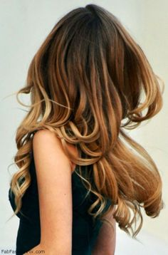 Gorgeous layered ombre hair inspiration