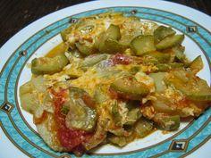 Κρητικά τραπεζώματα: Σφουγγάτο κατσαρόλας το φαγητό της γιαγιάς!!!! Sprouts, Vegetables, Recipes, Food, Essen, Vegetable Recipes, Meals, Ripped Recipes, Eten