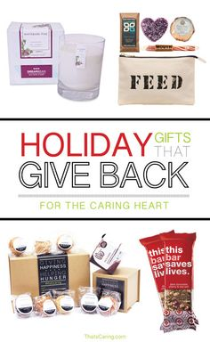 58 best Gifts That Give: Holiday Presents That Help Charity images ...