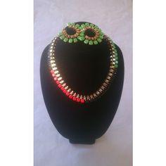 PurpleGlass Boutique | Island Inspired Necklace Set | Online Store... via Polyvore