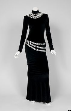 Whitney Houston The Bodyguard dress