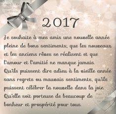 2017. Je souhaite à mes amis une nouvelle année pleine de bons sentiments... #bonneannee