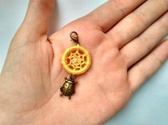 Ladybug zipper pull Kids clip on charm Cute by DreamsDimension
