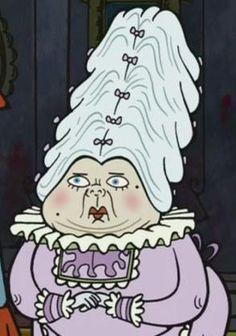 Lady Nickelbottoms: powder...powder...powder...