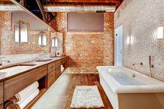 www.hgtv.com Banheiro estilo industrial