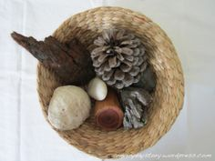 Discovery basket for children as young as two... Playful Learning