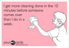 Yep!!!        -cleaning the house repinned from funny quotes by kiboomu kids