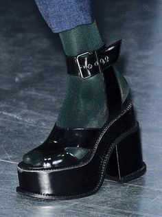 vivienne westwood never fails to impress fall 2012 Dr Shoes, Sock Shoes, Cute Shoes, Me Too Shoes, Aesthetic Shoes, Aesthetic Clothes, Mode Ootd, Look Street Style, Mein Style