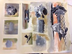GCSE textile sketchbook