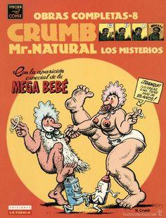 MR. NATURAL. LOS MISTERIOS, DE ROBERT CRUMB. OBRAS COMPLETAS Nº 8 (LA CÚPULA, 2000) - Foto 1