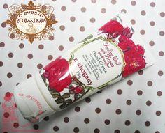 o avesso recomenda: creme para as mãos - feeling well with roses/mahogany