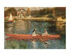 Renoir: The Seine at Asnieres. Art.com.