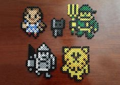 Wizard of Oz Inspired 8 Bit Perler Set by EBPerler on Etsy, $0.75