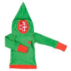 Albababy Toke sweater green velours toooooo cute to be true.....!