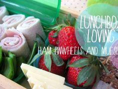 Pinwheels & chia seed bars