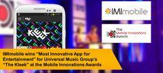 Mobile Innovations Awards - Kleek