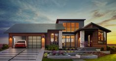A look into Tesla's new solar panels for the home. #BaronTips #HomeDesign http://www.housebeautiful.com/lifestyle/news/a7359/tesla-announces-solar-roof/