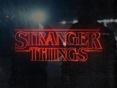 Stranger Things by Blake Allen #Design Popular #Dribbble #shots