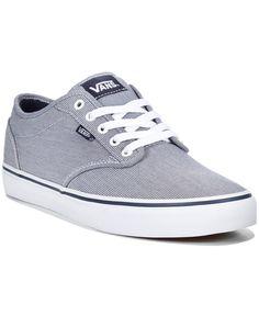 926917adddfd3 Vans Men s Atwood Textile Sneakers Men - All Men s Shoes - Macy s