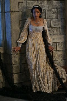 Rapunzel on Once Upon a Time. Again, because I just adore her dress.