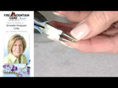 How to Make a Briolette Wrapped Loop with Tammy Honaman.