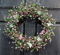Mother's Day Gift Wreaths  Spring Wreath  by Designawreath on Etsy, $56.95