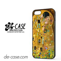 Gustav Klimt The Kiss DEAL-4961 Apple Phonecase Cover For Iphone 5 / Iphone 5S