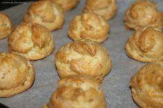 Gougères au cantal