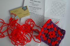 Granny square haken - crochet