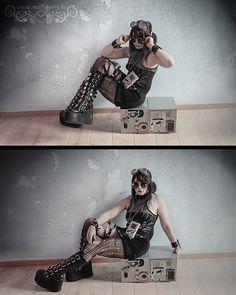 Milk-Berry's new cyberpunk / post-apocalyptic / retro-futurist accessories ! • Customised Game Boy • Circuit Board Jewels • Futuristic Bracelet • Customised Goggles • Customised Sunglasses • All unique models