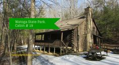 Watoga State Park cabin 19 in West  Virginia